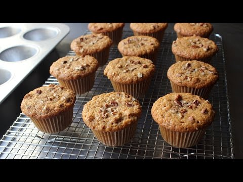 Sweet Potato Muffins - How to Make Sweet Potato Muffins - Holiday Muffins