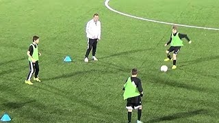 <p>Numbers Passing Drill</p>