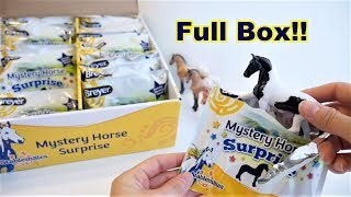 Full Box Breyer Mystery Horse Surprise 2018 Stablemates Blind Bags Unboxing   Breyer Horses