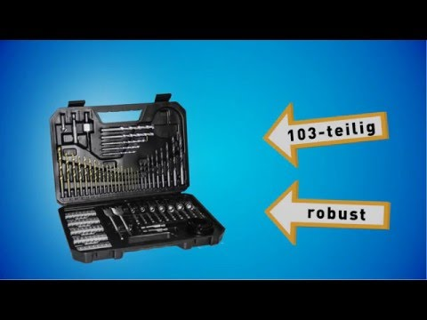 Produkt der Woche 09 - Bosch Titanium-Bohrer und Bit-Set 103-teilig