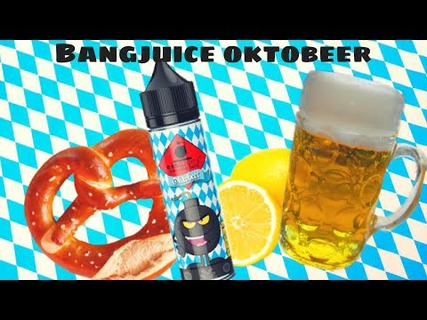 YouTube Video zu Bang Juice Oktobeer Longfill Liquid 15 ml für 60 ml