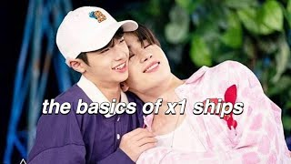 the basic of x1 ships