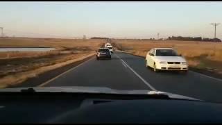 Opel Kadett GSi (SuperBoss) beats BMW X5M in South Africa roads!!