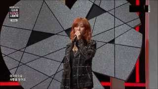 [131128 Live Perf.] HYORIN - Intro + Lonely @Mnet HYOLYN'S Love & Hate