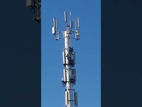 5G Cellular Tower Beside Rehab Center