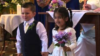 Wedding Flower Girl and Page Boy Highlights