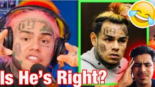 Does 6IX9INE Regret Snitching?(Reaction)