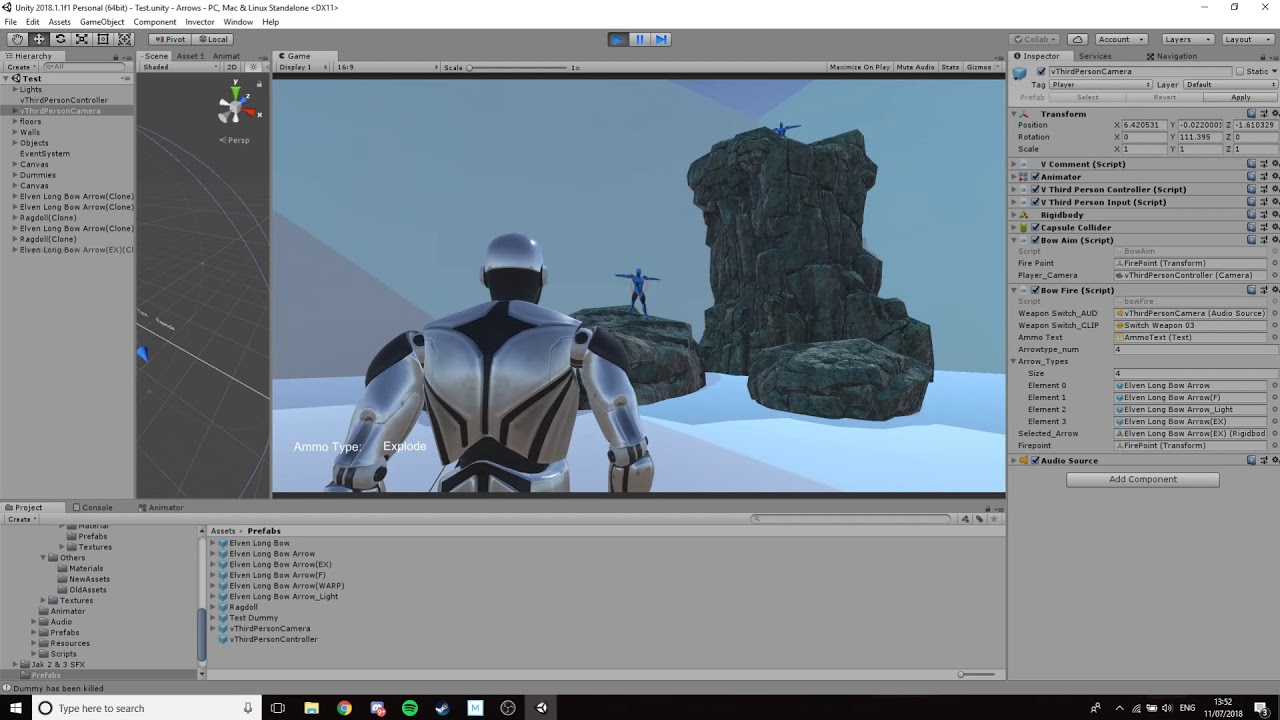 3rd Person Shooter Concept in Unity