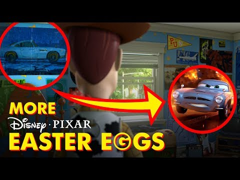 Pixar Easter Eggs & Hidden Secrets You Never Noticed | Pixar