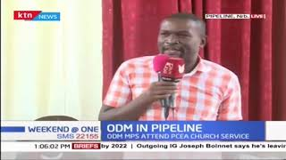 ODM MPs drum up support for ODM candidate in Embakasi