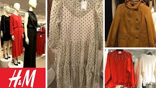 H&M NEW FALL WINTER LADIES FASHION DRESSES/COAT/SWEATER | COME SHOP WITH ME!