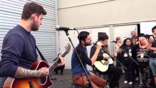 A Day to Remember - Another Song About the Weekend Acoustic