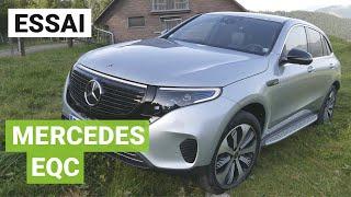 Essai du Mercedes EQC entre Zurich et Milan
