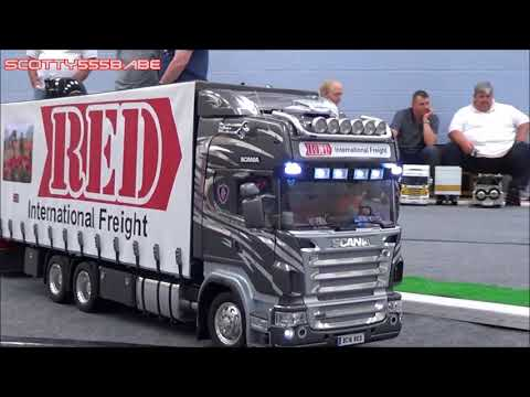 RC TRUCKS | STUNNING TAMIYA SCANIA RIGID WAGON & DRAG