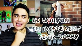 HI SUHYUN - I'M DIFFERENT (ft. BOBBY) MV Reaction