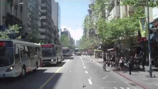preview picture of video 'Avenida 18 de julio - Montevideo (Viaje:05/11/10)'