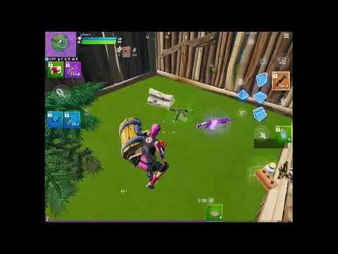 Let's play fortnite chapter 2 (iPad mini)