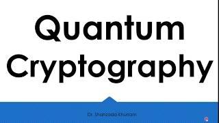 Quantum Cryptography Einfache Definition
