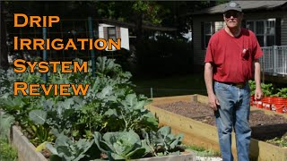 This is a review of our Drip Irrigation System