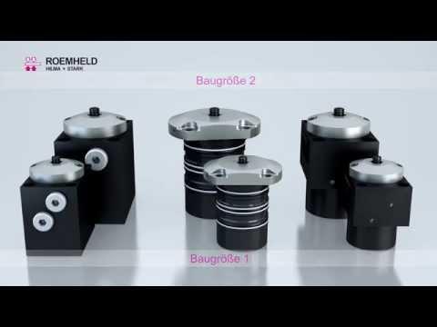 Roemheld - Hidkom Delik İçi Hidrolik Sıkma Silindirleri