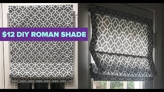 How To Make A Roman Shade From Mini Blinds - Cheap DIY Room Decor Ideas