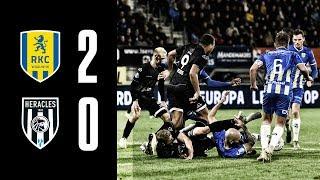 RKC Waalwijk - Heracles Almelo | 02-11-2019 | Samenvatting