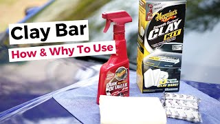 HOW & WHY TO CLAY BAR DETAIL YOUR CAR OR SUV  *MEGUIAR'S CLAY KIT REVIEW*