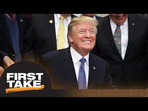 President Trump named 'Most Influential Person in Sports in 2017' | First Take | ESPN