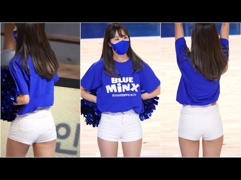 [4K] 유주흔 (Yoo Juheun) 치어리더 직캠 #3 삼성생명 블루밍스 201126
