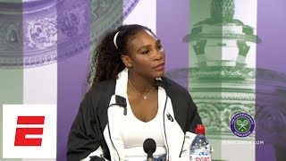 Serena Williams on daughter: I would hope Olympia doesn't play tennis | ESPN