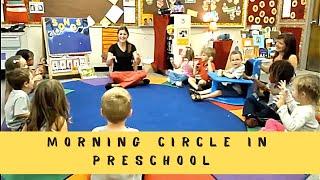 Morning Circle at Preschool