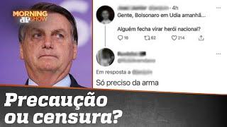 'Alguém fecha virar herói nacional?' Jovem é preso após publicação sobre Bolsonaro