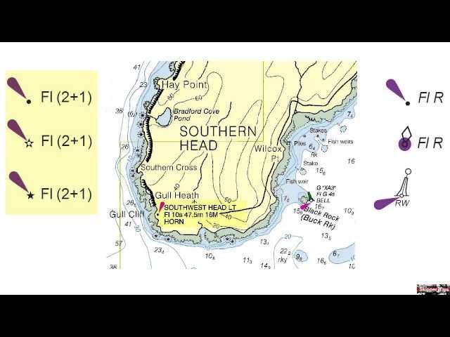 Sailing Navigation Chart Symbols You Need to Know!