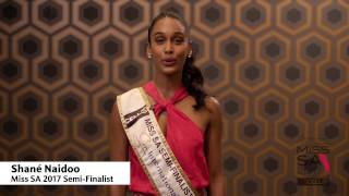 Introduction Video of Shane Naidoo Miss South Africa 2017 Contestant from Benoni, Gauteng
