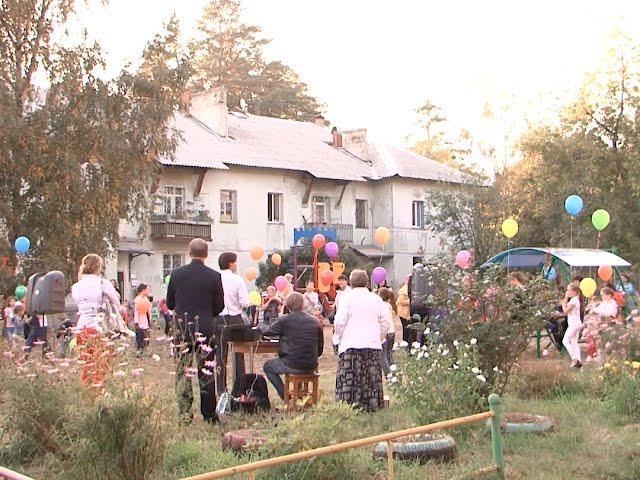 В Ангарске благоустраивают дворы