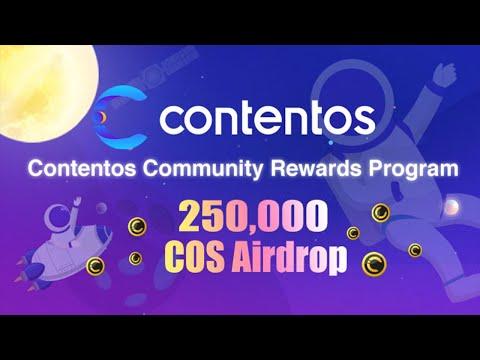 250,000 Mil moedas no Airdrop Contentos , 100% Confiável ! Paga em 30 dias.