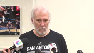RAW VIDEO: Coach Gregg Popovich reflects on Spurs' season