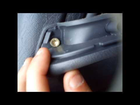 comment demonter panneau de porte smart