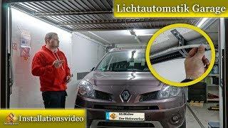 Garagen Innenbeleuchtung LED +Bewegungsmelder / Lichtautomatik Garage