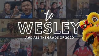 To Wesley // from your lion dance friends