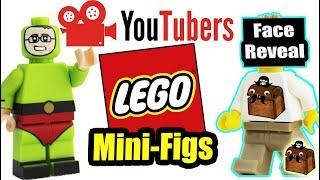 Youtubers LEGO Custom Minifigures #1