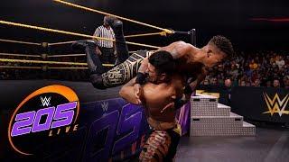 Lio Rush Vs. Raul Mendoza: WWE 205 Live, Nov. 8, 2019