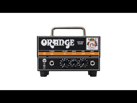 Orange MD Micro Dark Valve Hybrid Guitar Amplifier Head 20 Watts