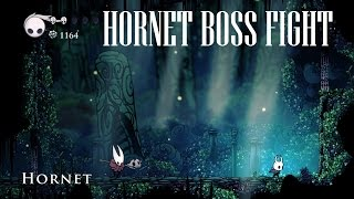 Hollow Knight [Hornet Boss Fight] - Gameplay PC