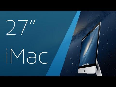 Late 2012 iMac 27