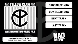 Gambar cover Yellow Claw, Diplo & LNY TNZ - Techno (feat. Waka Flocka Flame) [Full Stream]