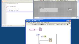 Labview Tutorial For C Programmers #1 - Hello World In Labview