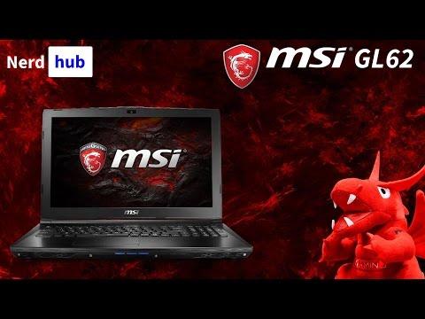MSI GL62 7RD - laptop z GeForce GTX 1050 - MSI Gaming School