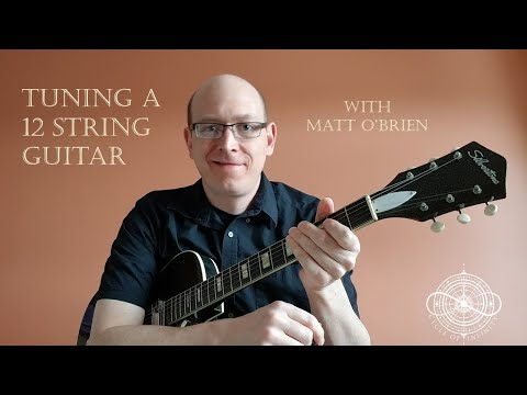 How to tune a 12 string guitar with ease!!!