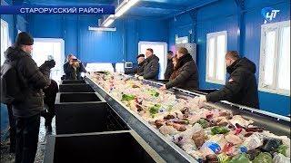 В Старорусском районе открылся специальный сортировочный центр для мусора
